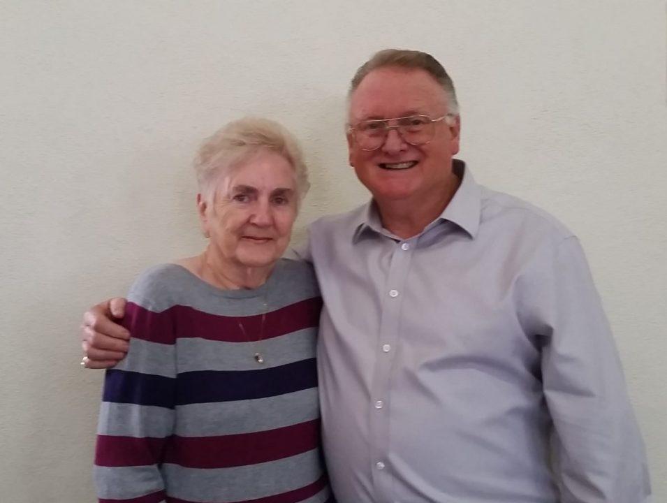 Church Elders Peter and Pauline Dart